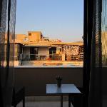 Acropolis View  de notre chambre - !!!