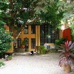 Back garden of Posada Palermo