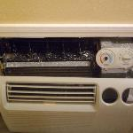 the messed up air conditioner!