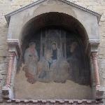 L'ingresso principale non in uso