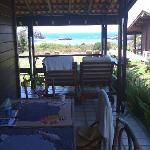 veranda from familybungalow
