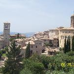 The view from Santa Chiara Church