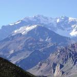 Acá está, el Cerro Aconcagua, el más alto de América