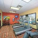 Never miss a workout in the Courtyard hotel near Virginia Beach featuring new LifeFitness cardio