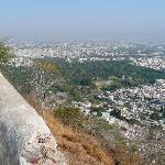 View of Udaipur from Fish Hill