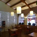 Salle du restaurant, déco sympa