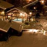Un soir d'hiver - Le Hameau Albert 1er