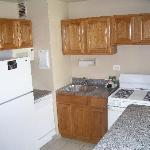 Kitchen from hall