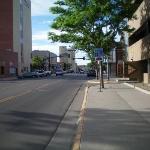 downtown Casper, Wyoming.