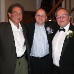 Ted Howard with my Husband and his son