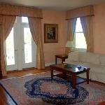 Honeymoon suite sitting room
