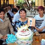 Ann's birthday cake