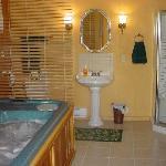 Bubbling Hot-Tub Spa