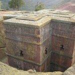 Iglesias talladas en la roca de Lalibela