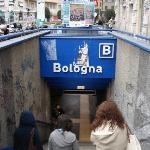 Metro Bologna, just 3 minutes from the B&B