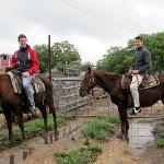 First time on a horse - a great experience
