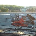 superbe terrasse solarium