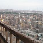 il cairo da un minareto con la guida isham e i bambini