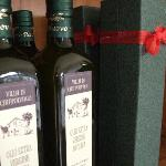 They make their own olive oil on site from the surrounding olive orchard... delicious