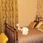 Room no' 1. A warm welcome awaits.