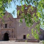 Tumacacori Mission near Tubac, AZ.  Nearby is Wisdom's, the best Mexican restaurant in so. AZ.