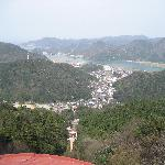 view from hillside