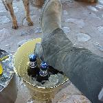 dirty boots and cold beer not much better than that
