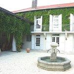 façade jardin avec le patio