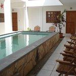 Courtyard pool at Hotel Villa Isabella