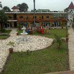 The Village playground View from Vineyard