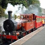 100年選手の蒸気機関車