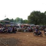 Markt in Prachin Buri