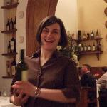 Super waitress Federica