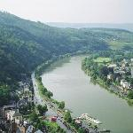 The River Moselle, Traben-Trabach in Germany