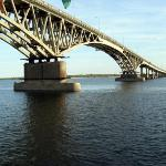 Saratov Bridge from Saratov to Engels