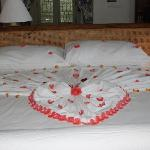 wedding bed