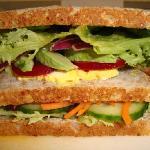 Vegetarian Vogels(r) Sandwich