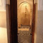 suite Nacre verso il bagno