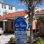 Blue Waters Beach Club Sign
