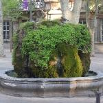 one of many fountains in Aix
