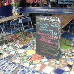 Blue Mountain in Dulwich, site of 2 scrumptious breakfasts, including the Veggie Full Monty.