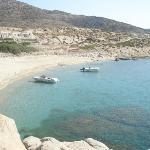 manganari beach, ios greece...