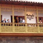 el balconn!!!!!! una vista privilegiada