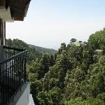 View from balcony (Super Deluxe)