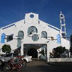 街の中心にある教会 Estancia Church