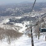 Gondola to the top of the mountain