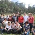 All of us on our wine tasting tour!