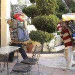 manual luggage transport