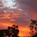 Spectacular Longreach sunset