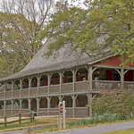 Historic Gardens Restaurant, one of the original structures when Callaway Gardens opened in 1952